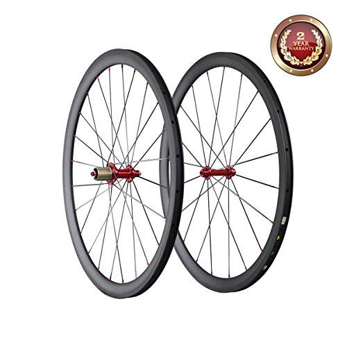 carbon fiber 700c wheelset - 9