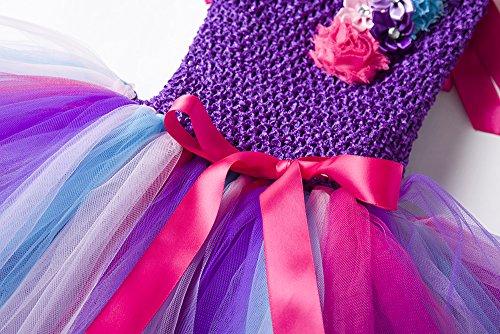 Ragazza Color Estivo Vestito Tutu 11 Da Cielarko Bambina Abiti Principessa 4 Anni Unicorno 2 HqY7qpwS