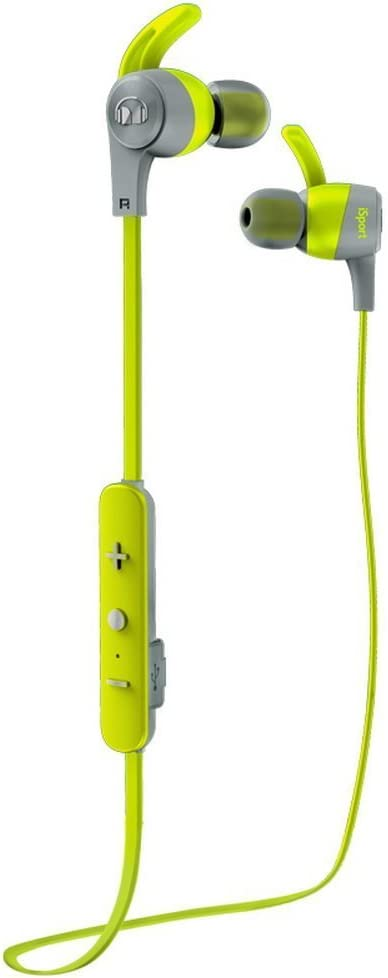 Monster iSport Achieve - Auriculares tipo In-Ear inalámbricos, color verde