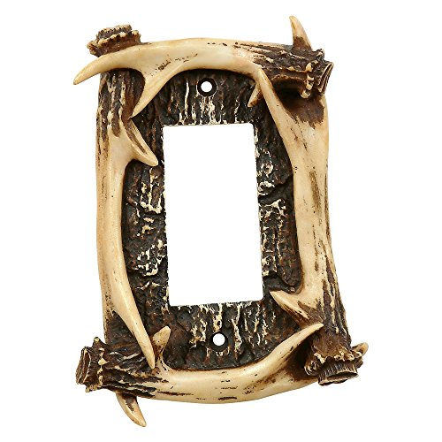 (Black Forest Decor Antler Lodge Single)