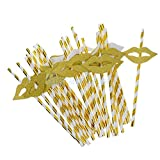 keurig water filters walmart AMAZZANG-25Pcs Cute Golden Funny Beach Party Cocktail Juice Drinking Straws Party Décor (hot golden lips)