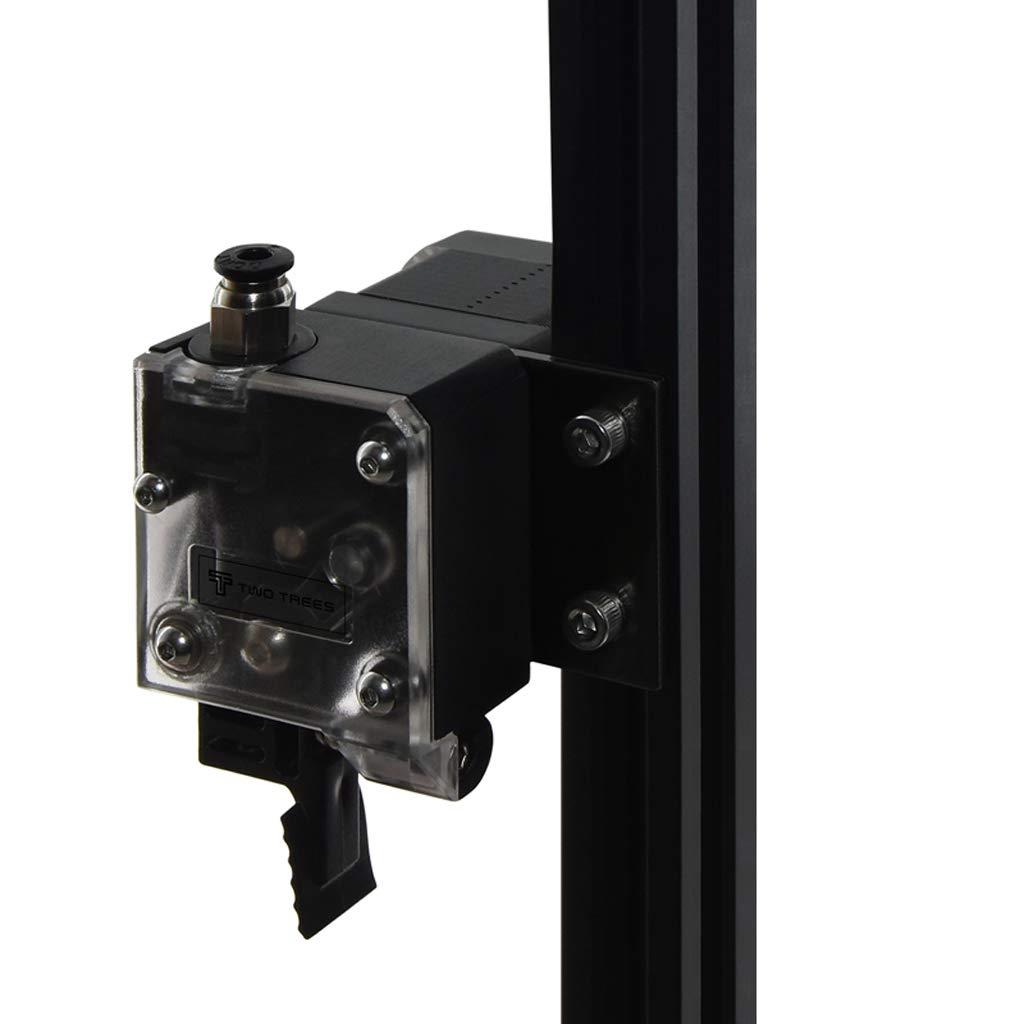 2ST Aluminium NEMA 17 42 Schrittmotor-Montageplatte Befestigt Halter F/ür 3D-Drucker 2020 Profile
