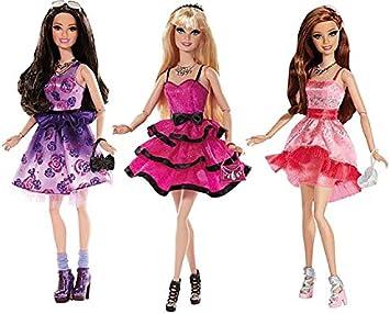 Barbie - Noche de Chicas, muñeca y Accesorios (Mattel España CFV40): Juguetes y juegos - Amazon.es