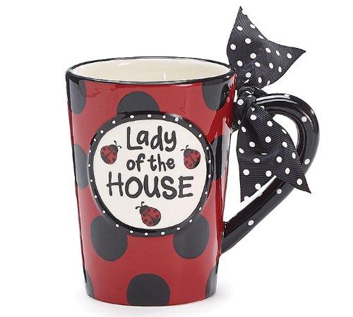 Red Ladybug House -