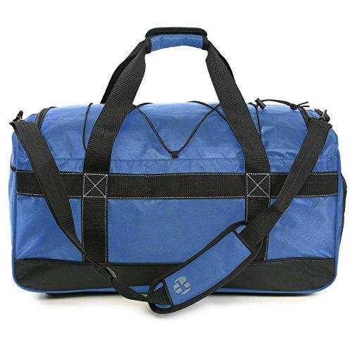 """51Dq%2Bxr0zLL - Perry Ellis 22"""" Weekender Duffel Bag, Navy"""