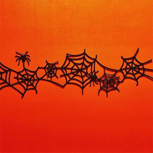 Two's Company Felt Spiderweb 5 ft (Halloween Web Banners)