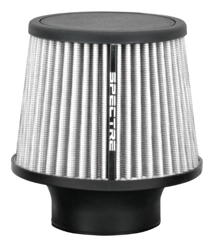 - Spectre Performance 9138 Universal Clamp-On Air Filter: Round Tapered; 3 in (76 mm) Flange ID; 6.5 in (165 mm) Height; 6 in (152 mm) Base; 4.75 in (121 mm) Top