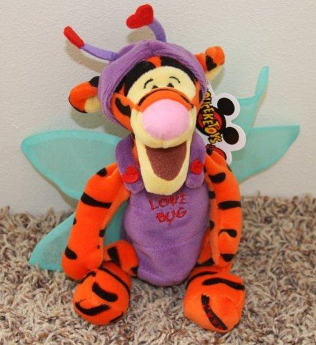 Disney Mini Bean Bag Love Bug Dragonfly Tigger