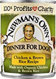 Newman's Own Chicken & Brown Rice Formula For Dogs...