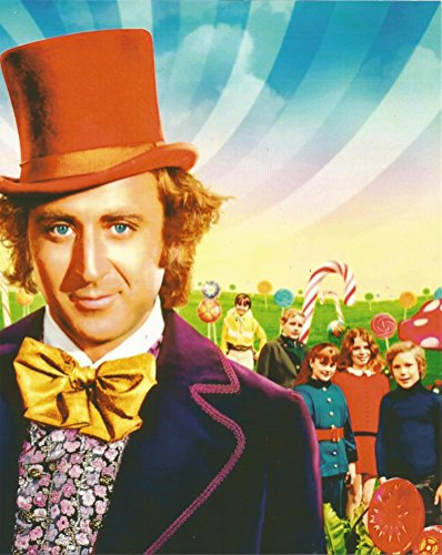 Willy Wonka & the Chocolate Factory Gene Wilder & cast - 8 x 10 Poster Art Photo 004 (Willy Wonka Photos)