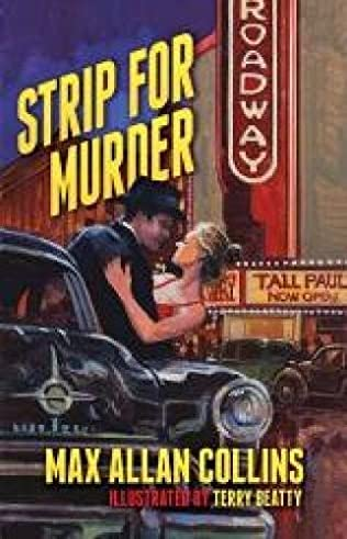 book cover of Strip For Murder