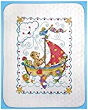 quilt cross stitch - Tobin Sail Away Baby Quilt Stamped Cross Stitch Kit
