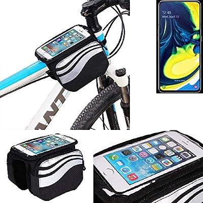 K-S-Trade® Bolso Bolsa Funda Bicicleta para Samsung Galaxy A80 ...