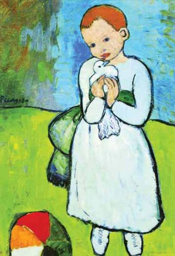 Ricordi L'Enfant au Pigeon 1000 Piece Pablo Picasso Jigsaw Puzzle