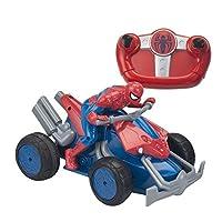 Spider-Man 7903 - Voiture Radiocommandée - Moto Quad - 23 cm