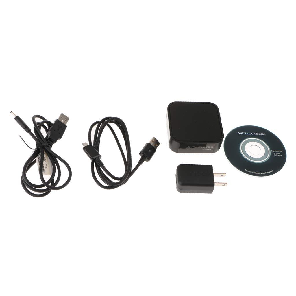 Baosity USB 2.0 WiFi顕微鏡電子デジタル接眼レンズカメラ 画像キャプチャー用   B07H8H283C