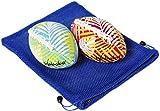 "Waboba Water Football 6"" // Bundle of 2 Footballs (Random Colors) // Bonus Blue Nylon Mesh Carry Bag// Bundled Items"
