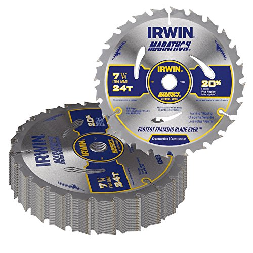 "7-1/4"" x 24 Tooth Circular Saw Blades (Pack of 20)"