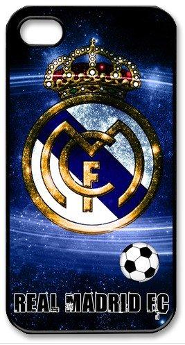 Real Madrid Logo FC imagen HD Carcasa para iPhone 4/4S negro ...