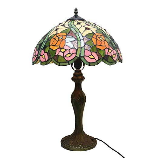 De Rosa Sobremesa Lámpara Vidrio Color De 2020 De Lámpara De Ow8PkXn0