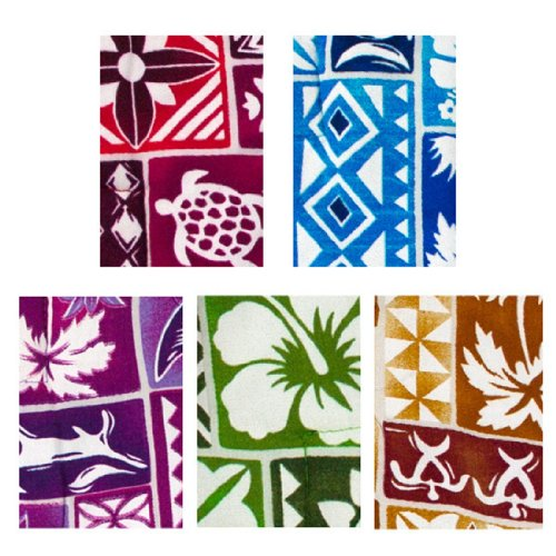 Maui Magic (Akamai Set of 5 Maui Magic Potato Pocket Assorted Hawaiian Prints)