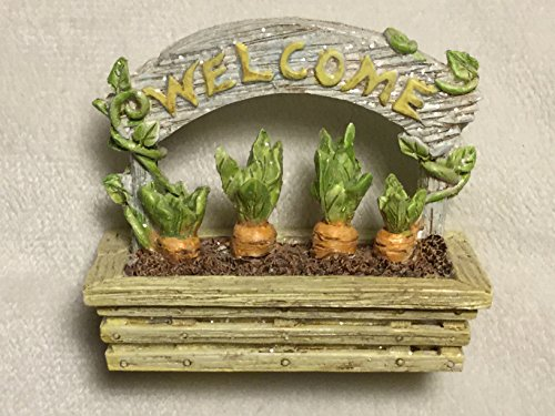 (Easter Village Welcome Sign, Carrot Garden Welcome Sign)