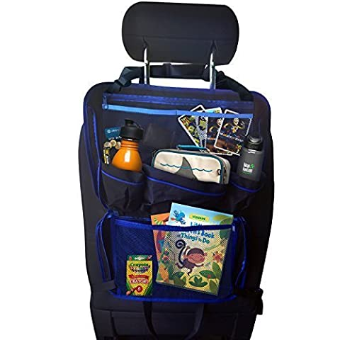 Portable Car Organizer, Car Seat Protector, All-In-One / Back Seat Organizer Keeps Your Car Neat, Tidy and (How Do I Get More Storage On M)