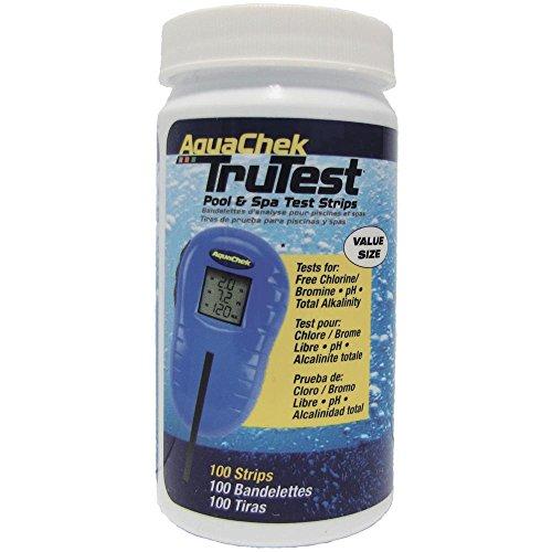 (AquaChek 512138 TruTest Digital Reader Swimming Pool Spa Test Kit Strips Refill (1))
