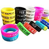 Vape Bands - Pack of 20 Vape Rings made with Silicone for RBA RDA Tank Mechanical Mods
