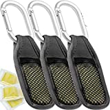 MozGuard Mosquito Repellent Clip (3 Pack) All Natural Citronella Insect Protection for Ba