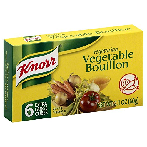 Knorr Vegetable Bouillon Cubes, Pack of 12 (Bouillon Vegetarian)