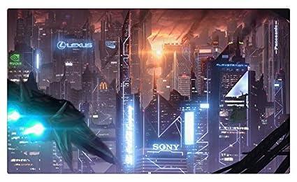 Rascacielos Megapolis Meteor ducha Fantasía ciudades sitios ...