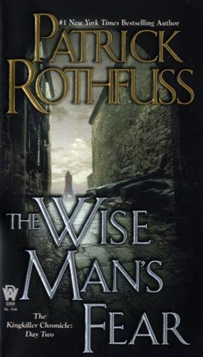 Book cover from The Wise Mans Fear (Kingkiller Chronicle)by Patrick Rothfuss