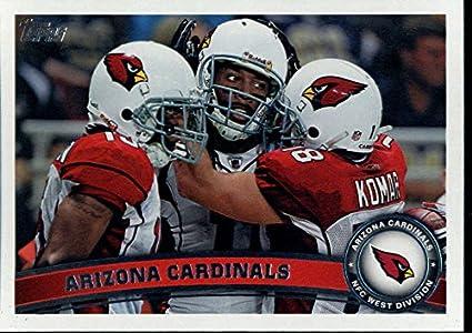 b8921f9e6 Amazon.com  Football NFL 2011 Topps  375 Larry Fitzgerald Max Komar ...