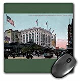 3dRose BLN Vintage New York City Collection - Macys and Herald Square New York City Vintage Postcard Reproduction - MousePad (mp_170838_1)