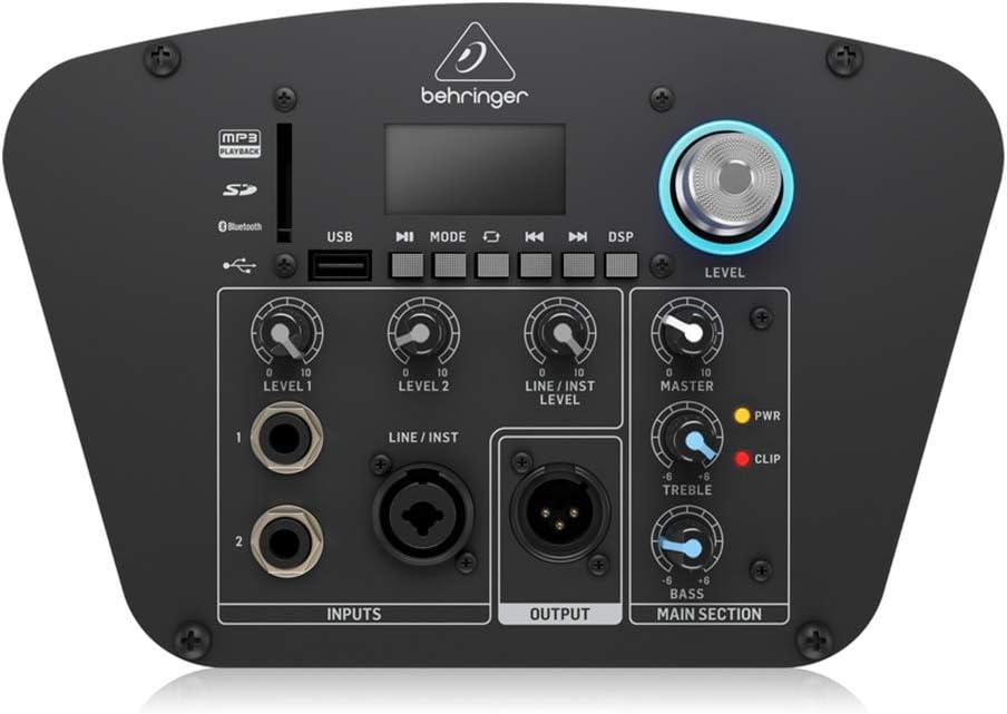 Behringer C210 Column Loudspeaker Sound System PA Bluetooth DJ Disco