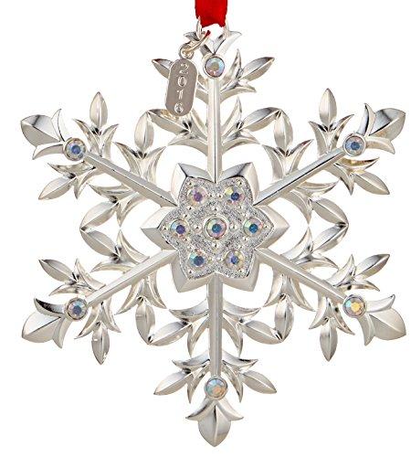 China Snowflake Ornament (Lenox 2016 Snow Majesty Ornament)