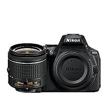 Nikon D5600 DSLR with AF-P DX NIKKOR 18-55mm f/3.5-5.6G VR Lens Kit (Renewed)