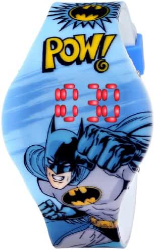 Batman Kids' BAT4215 Digital Display Analog Quartz Blue Watch