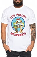 Los Pollos Herren T-Shirt Hermanos Bad Heisenberg Breaking