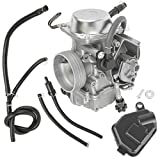 Caltric compatible with Carburetor Honda 450 Trx450Fe Trx45Fm Foreman 450 2002 2003 2004