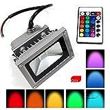 Tiny Deal 85-265V 10W 900LM Remote Control LED Flood Light