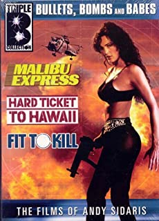 The Films Of Andy Sidaris Bullets Bombs And Babes Malibu Express Hard