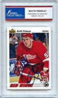 Keith Primeau 1991-92 Upper Deck Detroit Redwings Signed Trading Card - Certified Authentic