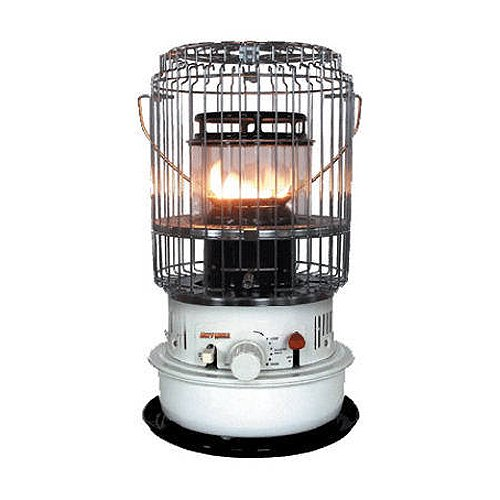 World Marketing of America KW-12 Kero-World Compact Convection Style Kerosene Wick Heater, 10500 BTU
