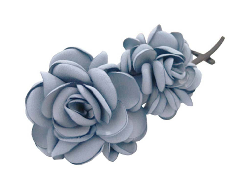 Banana Clip Hair Ornaments Twisted Folder Clip Vertical Hairpin ,Grey Blue Panda Superstore PS-BEA11057981-LILY01466
