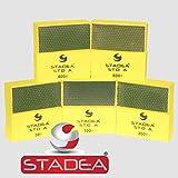 STADEA DHPW00STDA508H5P Diamond Hand Polishing Pad Series Standard A 50-800, 5 Piece Set