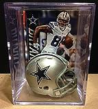 Dallas Cowboys NFL Helmet Shadowbox w/Dez Bryant card