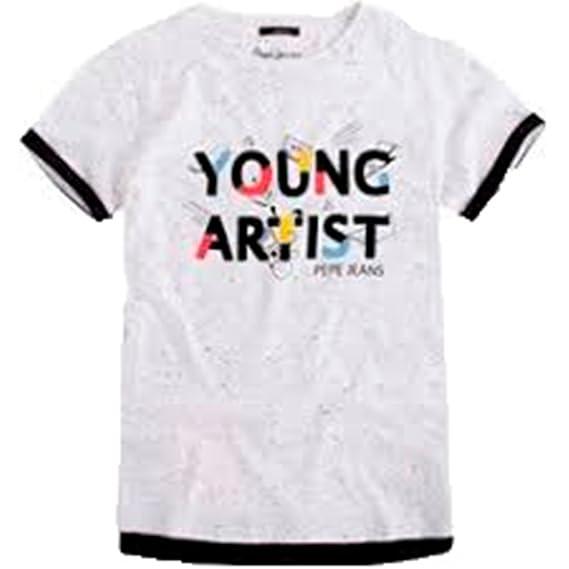 a0267d125f542 Pepe Jeans London - T-Shirt - Garçon Multicolore Multicolore 14 Ans ...
