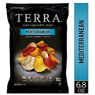 TERRA Mediterranean Chips, 6.8 oz. - PACK OF 2